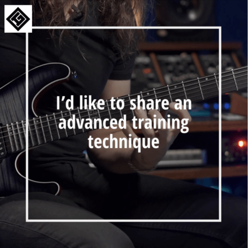 advanced guitar training technique